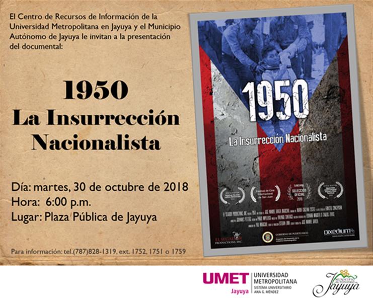 Insurrección Nacionalista 1950